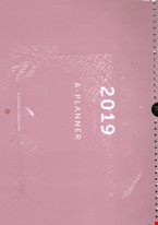 My Journal A-Planner 2019
